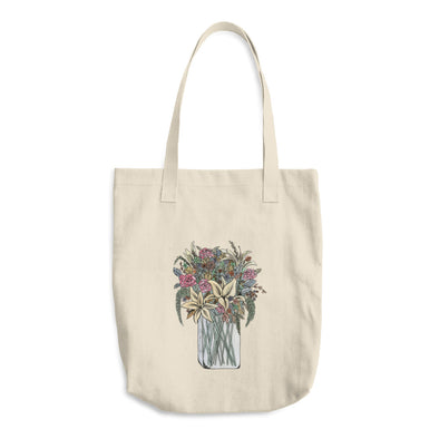Bouquet of Flowers Cotton Tote Bag