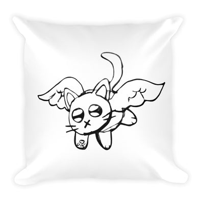 Angel! Square Pillow
