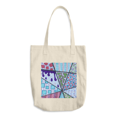 Zentangle 2 Cotton Tote Bag