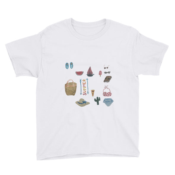 All Things Summer Youth Short Sleeve T-Shirt