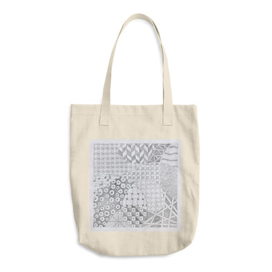 Zentangle Cotton Tote Bag