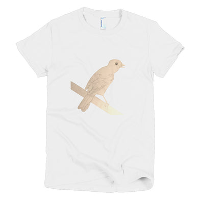 Bird Sketch Short sleeve women's t-shirt