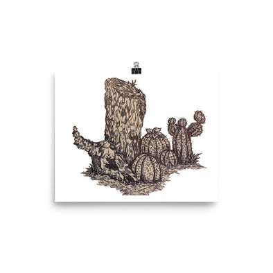 Desert Tree Stump, but more detailed Poster