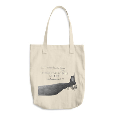Rooted Cotton Tote Bag