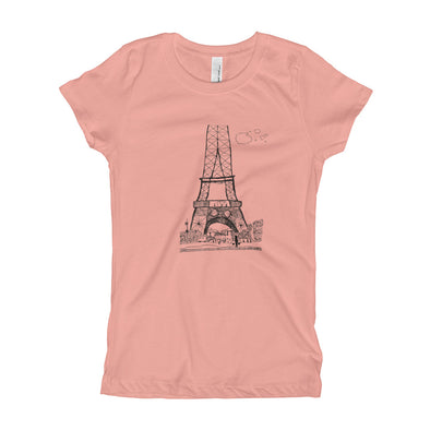 The Eiffel Tower Girl's T-Shirt