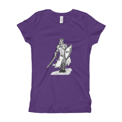 The Knight of Old Girl's T-Shirt
