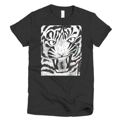 Full Furious Tiger Short sleeve women's t-shirt
