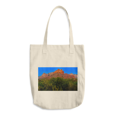 Painted God Cotton Tote Bag