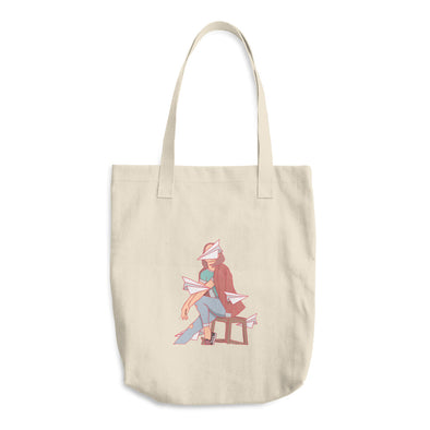 Airplanes Cotton Tote Bag