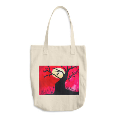 Moonlight Cotton Tote Bag