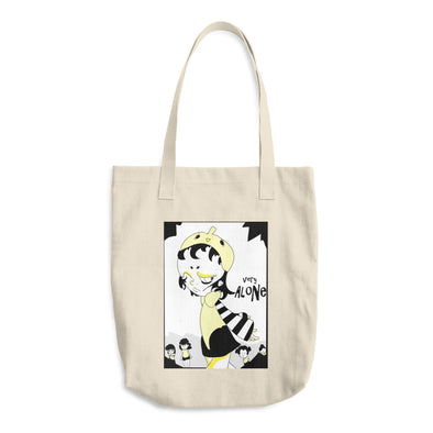 """Alone"" Cotton Tote Bag"