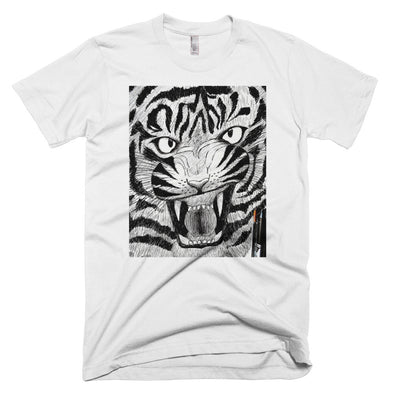 Full Furious Tiger Short-Sleeve T-Shirt