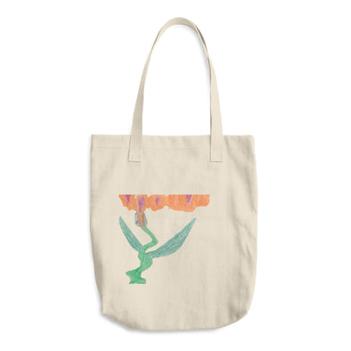 Love Dragon Cotton Tote Bag