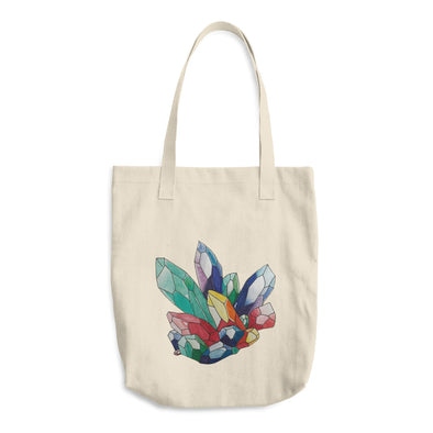 Crystals Cotton Tote Bag