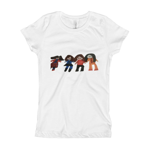A Group of Friends Girl's T-Shirt