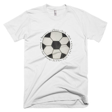 Soccer Ball Mens Short-Sleeve T-Shirt