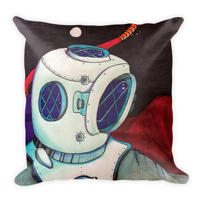 Surreal Dive Square Pillow