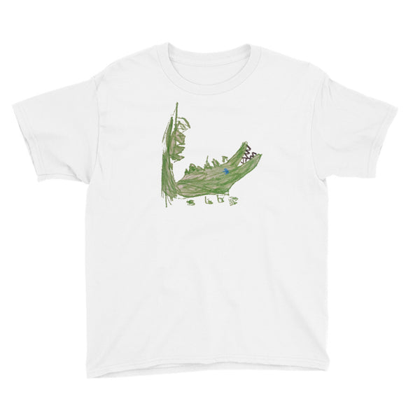 Allie Alligator Youth Short Sleeve T-Shirt