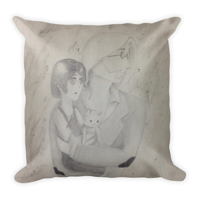"""Dad"" Square Pillow"