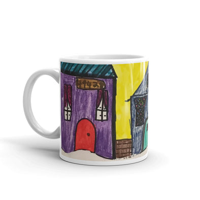 Winter Village Mug