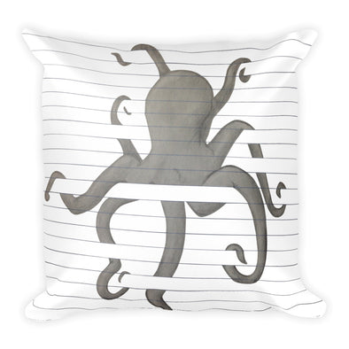 Tangled Square Pillow