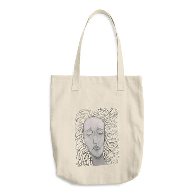 Weeping Woman Cotton Tote Bag