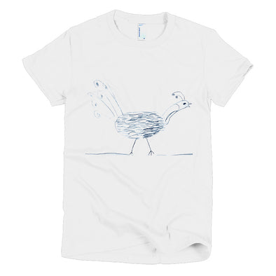 Peacock Short sleeve women's t-shirt