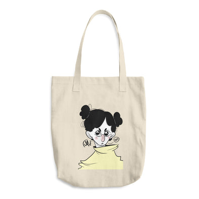 Raincoat Cotton Tote Bag
