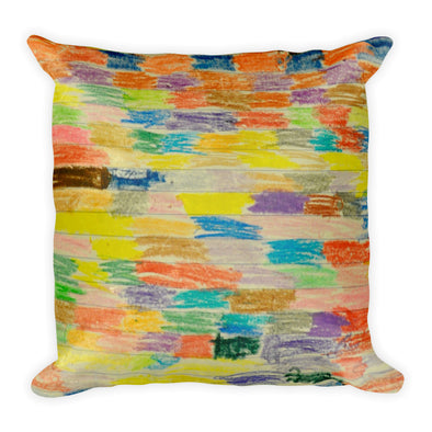 """52B"" Square Pillow"
