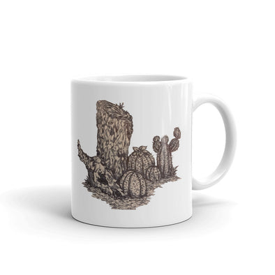 Desert Tree Stump, but more detailed Mug