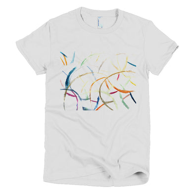 Waves Short sleeve women's t-shirt