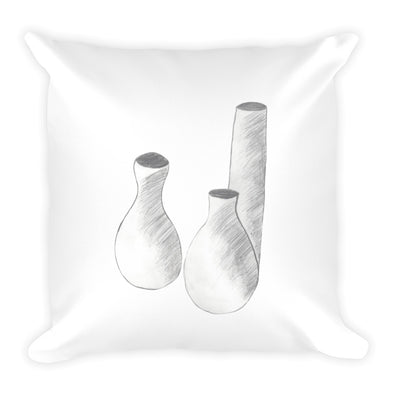 Still Life Square Pillow