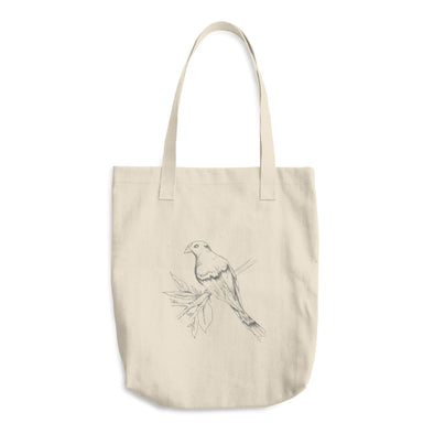Sing a Song of Spring Time Cotton Tote Bag