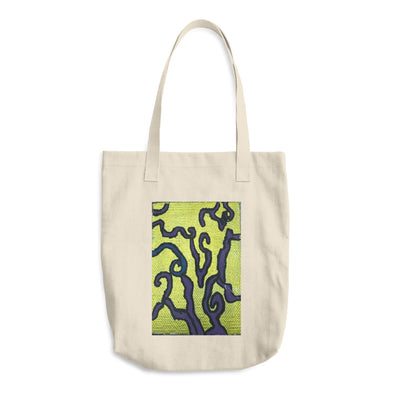 Abstract Cotton Tote Bag