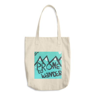 Adventure Abounds Cotton Tote Bag