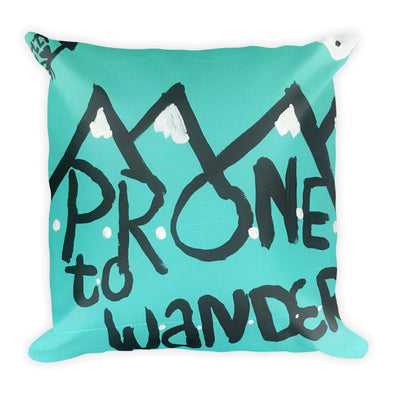 Adventure Abounds Square Pillow