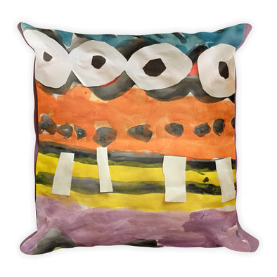 Abstract Things Square Pillow