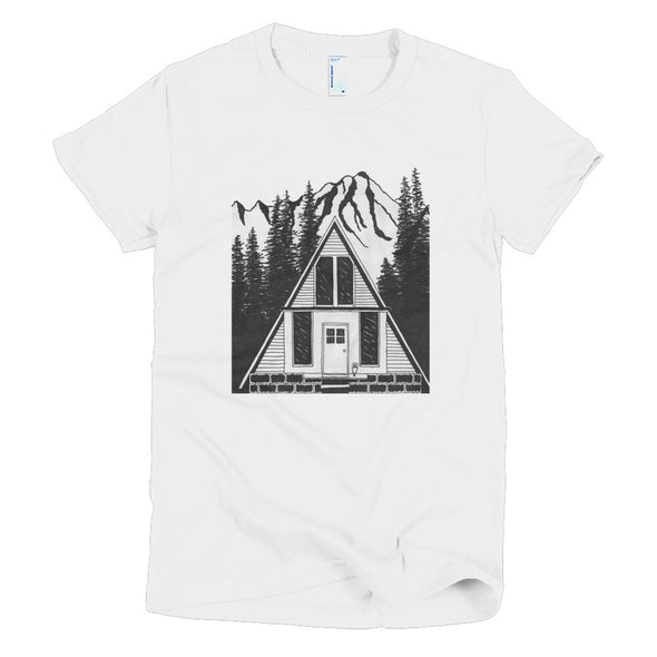 A Frame House Short sleeve women's t-shirt