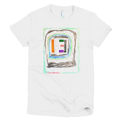 Line Monster Short sleeve women's t-shirt