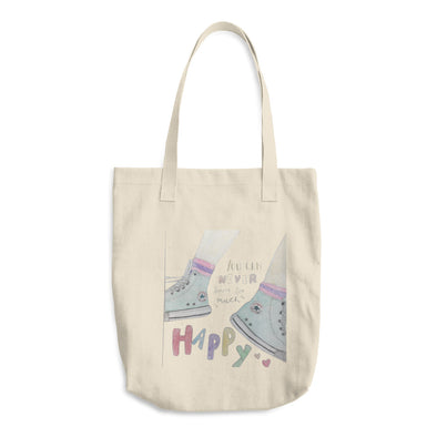 Be Happy Cotton Tote Bag