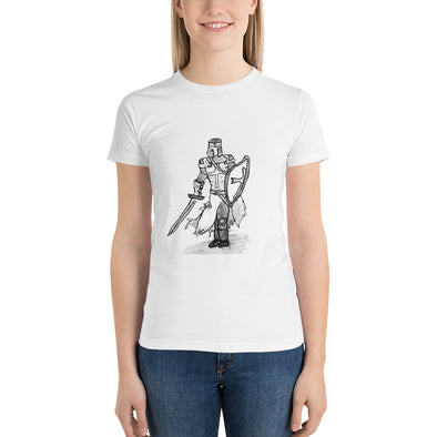The Knight of Old Short sleeve women's t-shirt