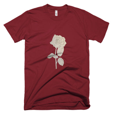 Rose Sketch Short-Sleeve T-Shirt
