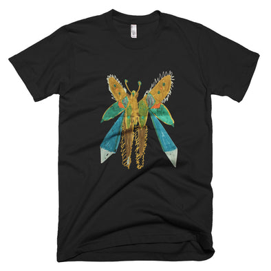 Double Swallowtail Short-Sleeve T-Shirt