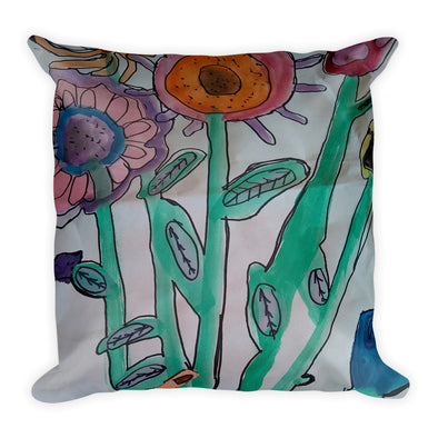 Joys of Spring Square Pillow