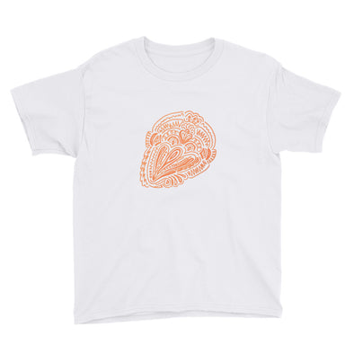 Doodle Design 2 Youth Short Sleeve T-Shirt