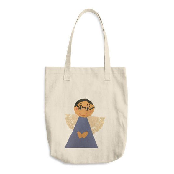 Angel Wings Cotton Tote Bag