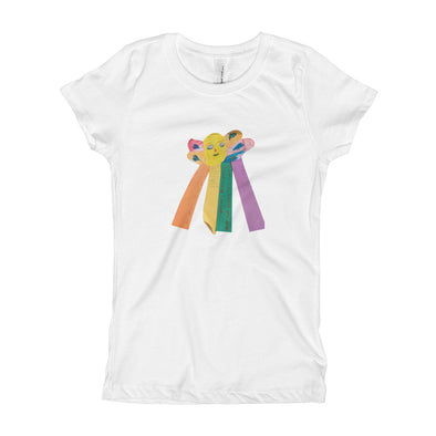 Butterfly-coud Girl's T-Shirt