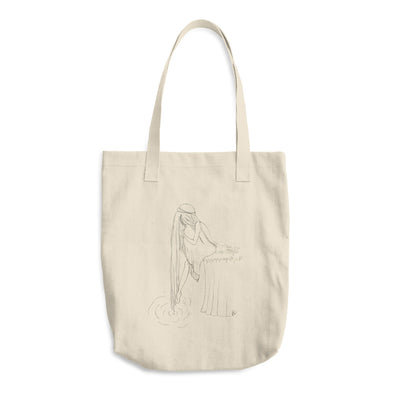 A touch into darkness Cotton Tote Bag