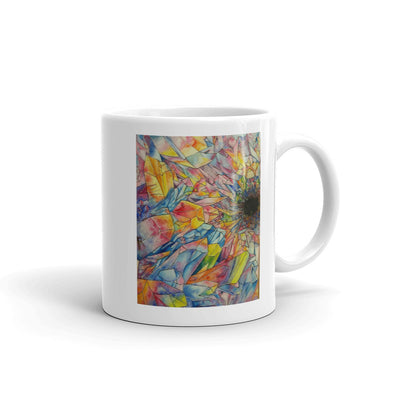 Crystal Formation Water Color Mug