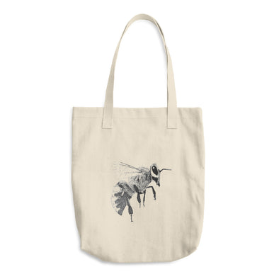 Bee Cotton Tote Bag